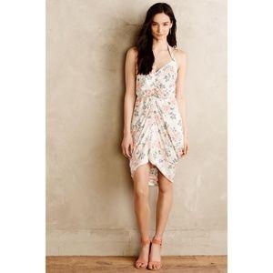 Paper Crown bouquet drape dress